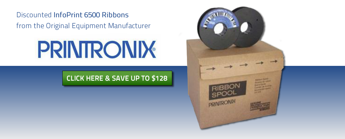 Discounted OEM InfoPrint 6500 Ribbons